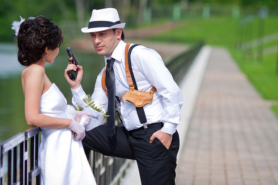 свадьба в стиле мафии, организация свадьбы